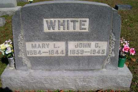WHITE, JOHN G. - Scioto County, Ohio | JOHN G. WHITE - Ohio Gravestone Photos