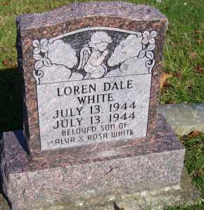 WHITE, LOREN DALE - Scioto County, Ohio   LOREN DALE WHITE - Ohio Gravestone Photos