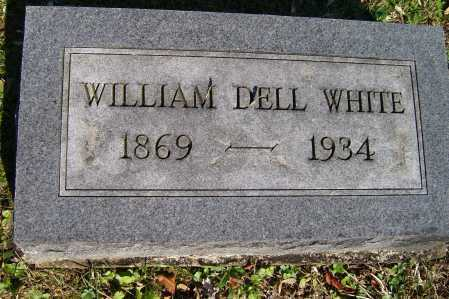 WHITE, WILLIAM DELL - Scioto County, Ohio | WILLIAM DELL WHITE - Ohio Gravestone Photos