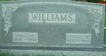 WILLIAMS, BERTHA M. - Scioto County, Ohio | BERTHA M. WILLIAMS - Ohio Gravestone Photos
