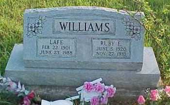 WILLIAMS, LAFE - Scioto County, Ohio | LAFE WILLIAMS - Ohio Gravestone Photos