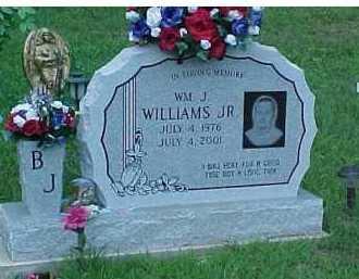 WILLIAMS, WM. J. JR. - Scioto County, Ohio   WM. J. JR. WILLIAMS - Ohio Gravestone Photos