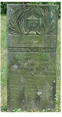 WILSON, RHODA - Scioto County, Ohio | RHODA WILSON - Ohio Gravestone Photos