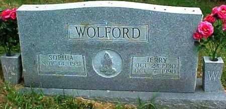 WOLFORD, SOPHIA - Scioto County, Ohio | SOPHIA WOLFORD - Ohio Gravestone Photos