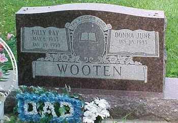 WOOTEN, DONNA JUNE - Scioto County, Ohio | DONNA JUNE WOOTEN - Ohio Gravestone Photos