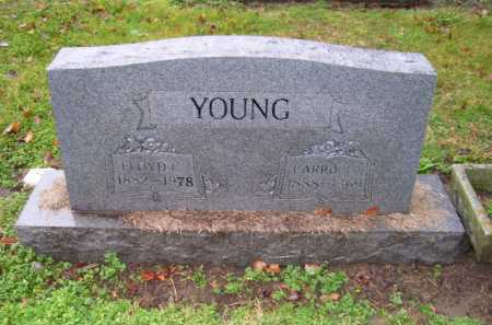 YOUNG, CARRIE L. - Scioto County, Ohio | CARRIE L. YOUNG - Ohio Gravestone Photos