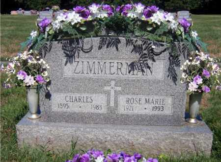 EICHENLAUB ZIMMERMAN, ROSE MARIE - Scioto County, Ohio | ROSE MARIE EICHENLAUB ZIMMERMAN - Ohio Gravestone Photos