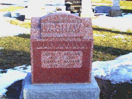 DROWN BASHAW, EMMA D - Seneca County, Ohio | EMMA D DROWN BASHAW - Ohio Gravestone Photos