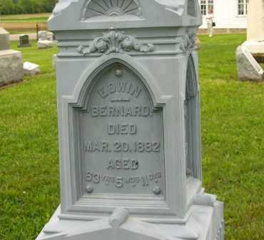 BERNARD, EDWIN - Seneca County, Ohio | EDWIN BERNARD - Ohio Gravestone Photos