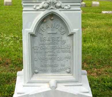 BERNARD, FRANCIS ISABEL - Seneca County, Ohio | FRANCIS ISABEL BERNARD - Ohio Gravestone Photos