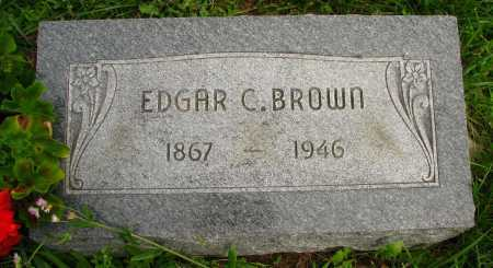 BROWN, EDGAR - Seneca County, Ohio | EDGAR BROWN - Ohio Gravestone Photos
