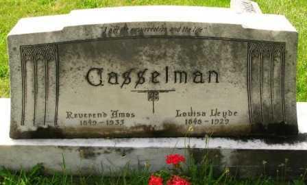 CASSELMAN, AMOS - Seneca County, Ohio   AMOS CASSELMAN - Ohio Gravestone Photos