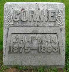 CHAPMAN, CORNIE - Seneca County, Ohio   CORNIE CHAPMAN - Ohio Gravestone Photos