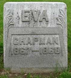 CHAPMAN, EVA - Seneca County, Ohio | EVA CHAPMAN - Ohio Gravestone Photos