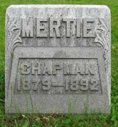 CHAPMAN, MERTIE - Seneca County, Ohio   MERTIE CHAPMAN - Ohio Gravestone Photos