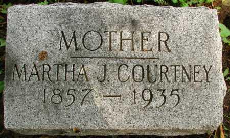 COURTNEY, MARTHA - Seneca County, Ohio   MARTHA COURTNEY - Ohio Gravestone Photos