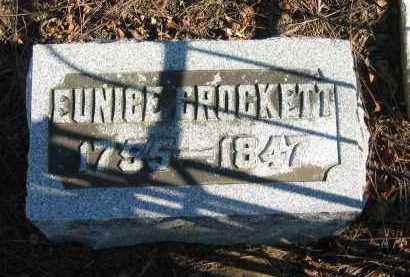 CROCKETT, EUNICE - Seneca County, Ohio | EUNICE CROCKETT - Ohio Gravestone Photos