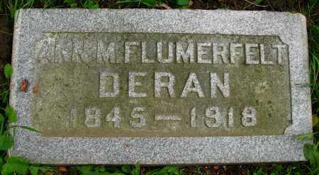 FLUMEFELT DERAN, ANN - Seneca County, Ohio | ANN FLUMEFELT DERAN - Ohio Gravestone Photos