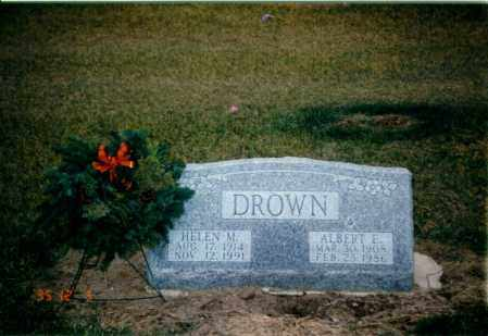 WITHERS DROWN, HELEN - Seneca County, Ohio | HELEN WITHERS DROWN - Ohio Gravestone Photos