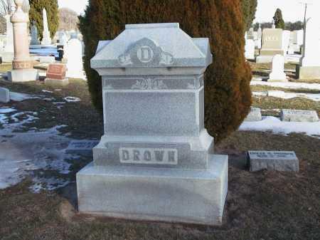 DROWN, DOLLY REBECCA - Seneca County, Ohio   DOLLY REBECCA DROWN - Ohio Gravestone Photos