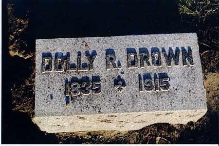 DROWN, REBECCA (DOLLY) - Seneca County, Ohio | REBECCA (DOLLY) DROWN - Ohio Gravestone Photos