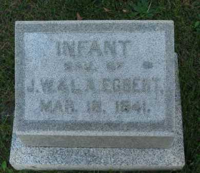 EGBERT, J. W. - Seneca County, Ohio | J. W. EGBERT - Ohio Gravestone Photos