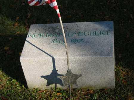 EGBERT, NORMAN D. - Seneca County, Ohio | NORMAN D. EGBERT - Ohio Gravestone Photos
