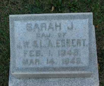 EGBERT, J. W. - Seneca County, Ohio | J. W. EGBERT - Ohio Gravestone Photos