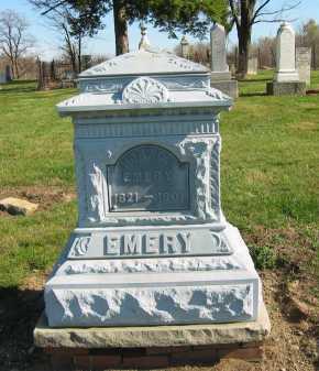 EMERY, HORACE - Seneca County, Ohio | HORACE EMERY - Ohio Gravestone Photos