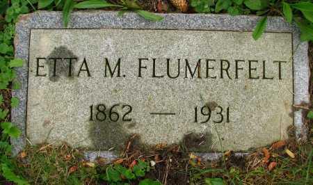 FLUMERFELT, ETTA - Seneca County, Ohio | ETTA FLUMERFELT - Ohio Gravestone Photos