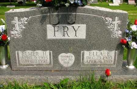 FRY, ELLA E. - Seneca County, Ohio | ELLA E. FRY - Ohio Gravestone Photos