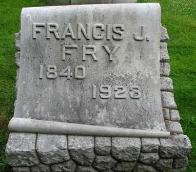 FRY, FRANCIS J. - Seneca County, Ohio | FRANCIS J. FRY - Ohio Gravestone Photos