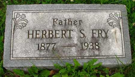 FRY, HERBERT - Seneca County, Ohio   HERBERT FRY - Ohio Gravestone Photos