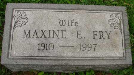 FRY, MAXINE - Seneca County, Ohio | MAXINE FRY - Ohio Gravestone Photos