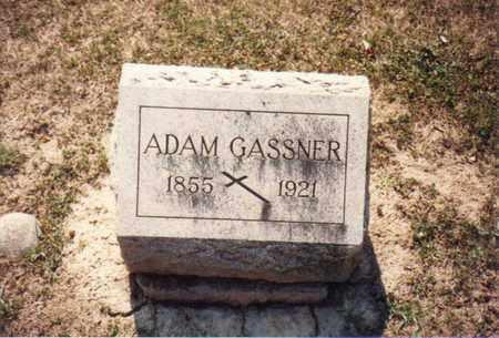 GASSNER, ADAM - Seneca County, Ohio   ADAM GASSNER - Ohio Gravestone Photos