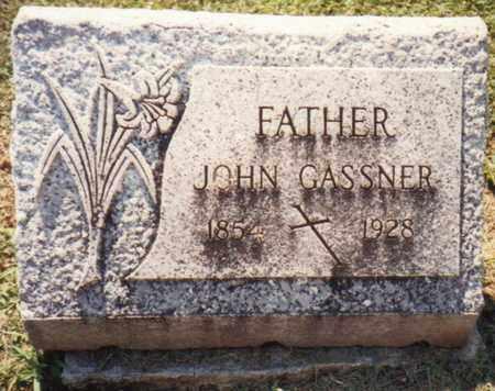 GASSNER, JOHN - Seneca County, Ohio   JOHN GASSNER - Ohio Gravestone Photos