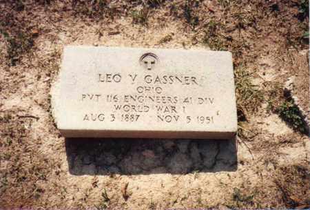 GASSNER, LEO VICTOR - Seneca County, Ohio | LEO VICTOR GASSNER - Ohio Gravestone Photos