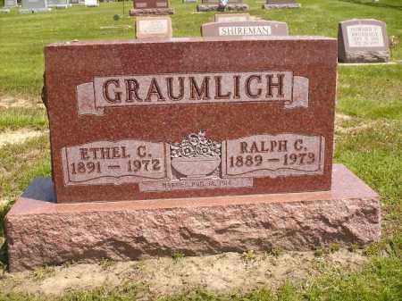 GRAUMLICH, RALPH CLINTON - Seneca County, Ohio | RALPH CLINTON GRAUMLICH - Ohio Gravestone Photos