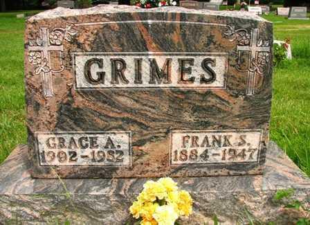 GRIMES, GRACE A. - Seneca County, Ohio | GRACE A. GRIMES - Ohio Gravestone Photos