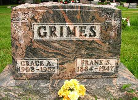 GRIMES, FRANK S. - Seneca County, Ohio | FRANK S. GRIMES - Ohio Gravestone Photos