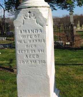 HARRIS, AMANDA - Seneca County, Ohio | AMANDA HARRIS - Ohio Gravestone Photos