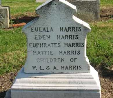 HARRIS, EUPHRATES - Seneca County, Ohio | EUPHRATES HARRIS - Ohio Gravestone Photos