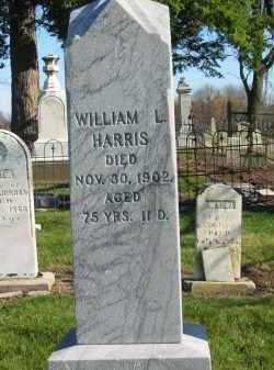 HARRIS, WILLIAM L. - Seneca County, Ohio   WILLIAM L. HARRIS - Ohio Gravestone Photos