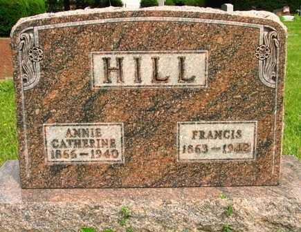 HILL, ANNIE CATHERINE - Seneca County, Ohio | ANNIE CATHERINE HILL - Ohio Gravestone Photos