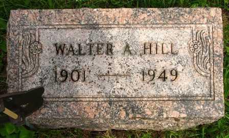 HILL, WALTER A. - Seneca County, Ohio | WALTER A. HILL - Ohio Gravestone Photos