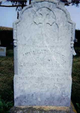 HOFFBAUER, ANNA CATHERINE - Seneca County, Ohio | ANNA CATHERINE HOFFBAUER - Ohio Gravestone Photos