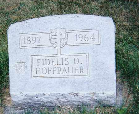 HOFFBAUER, FIDELIS DOMINICK - Seneca County, Ohio   FIDELIS DOMINICK HOFFBAUER - Ohio Gravestone Photos