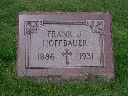 HOFFBAUER, FRANK J. - Seneca County, Ohio   FRANK J. HOFFBAUER - Ohio Gravestone Photos