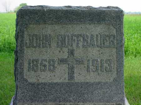 HOFFBAUER, JOHN - Seneca County, Ohio   JOHN HOFFBAUER - Ohio Gravestone Photos