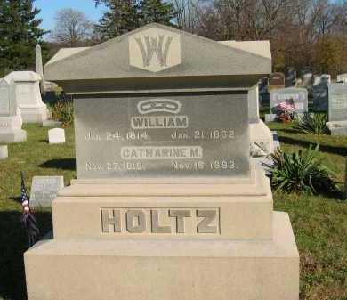 HOLTZ, WILLIAM - Seneca County, Ohio | WILLIAM HOLTZ - Ohio Gravestone Photos